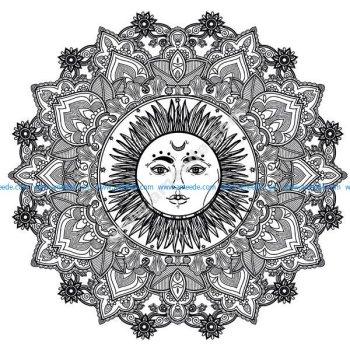 Mandala soleil 123rf