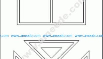 Flower Autocad Block Free CAD Block | Graphic Design Vector