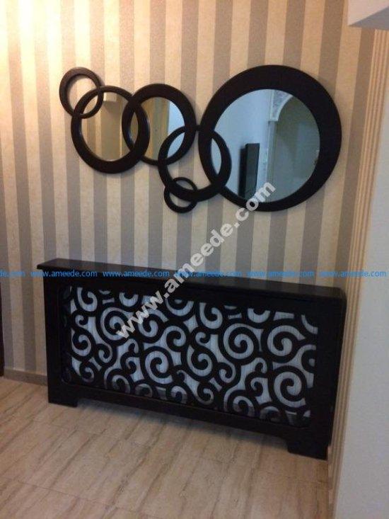 Round Wall Decor Mirror Frame