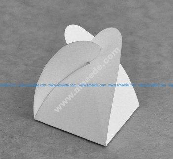 Triangular carton Star 60x60x60