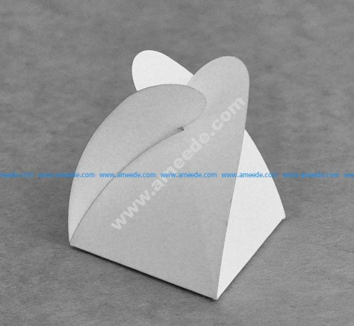 Triangular carton Star 60x60x60
