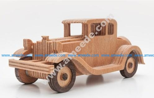 1930 Ford Modell A simplified