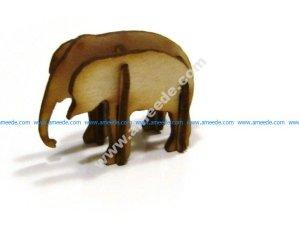 3D Puzzle Elephant