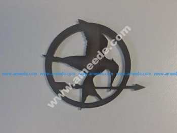 A Mockingjay from the Hunger Games