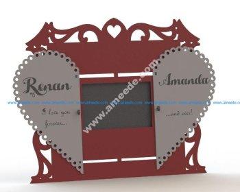 Couple Photo frame