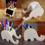 Elephant Phone & Pen Holder