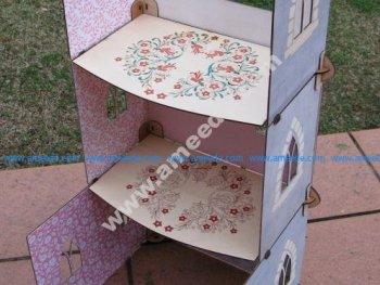 Flat pack dolls castle