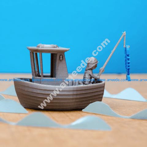 LEO THE LITTLE FISHING BOAT