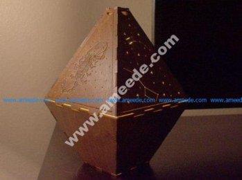 Laser Cut Constellation Lamp
