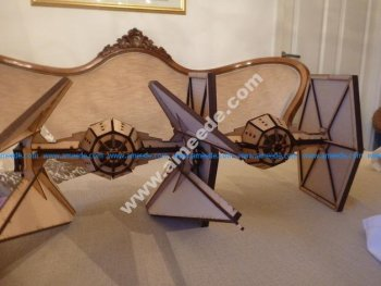 Laser cut Tie Interceptor