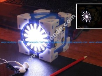 Lighted Companion Cube