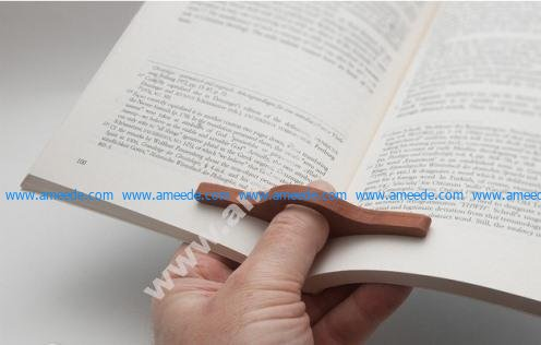 One Hand Book Holder