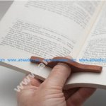 One Hand Book Holder