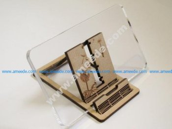 Phone Stand & Headphone Wrap