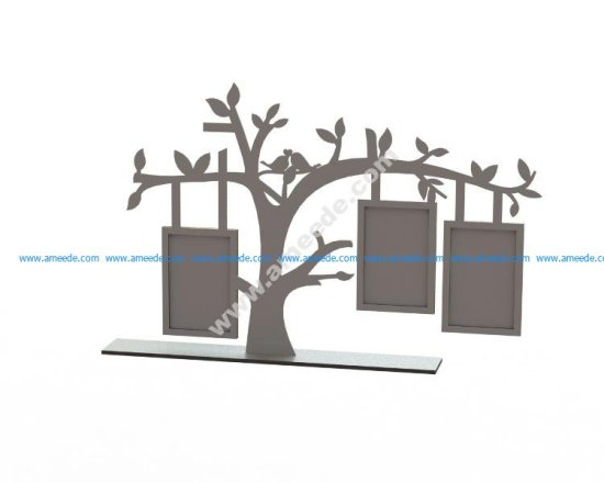 Tree Frame Laser Cut