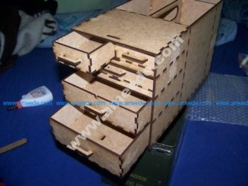 Turn your ammunition box into a storage box