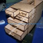 Turn your ammunition box into a storage box