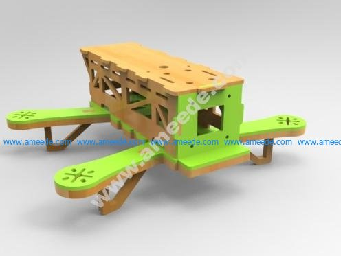 Woody - The MDF Drone