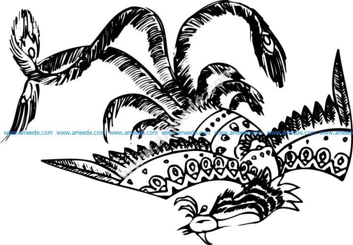 Phoenix - Chinese classical Pattern