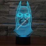 Batman new 3d illusion lamp