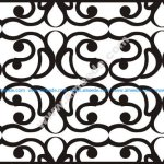 Decorative Partition Wall Pattern