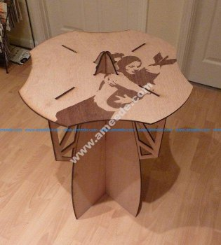 Flat Packable Side Table
