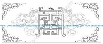 Vietnamse ancient pattern