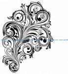 Vintage Swirl Design