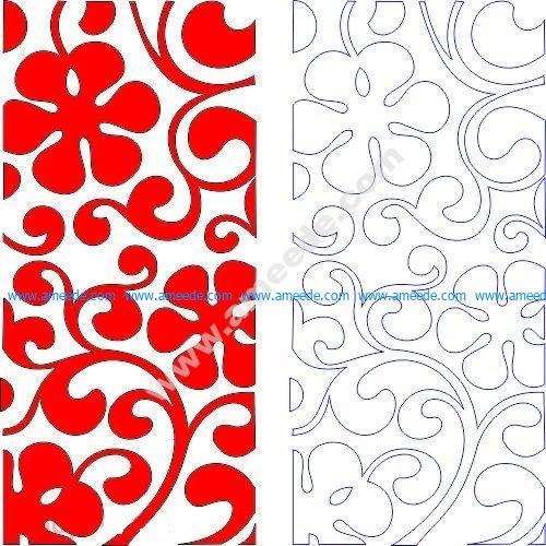 pattern vector cnc carvings 2D2