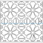 pattern vector cnc carvings 2D13