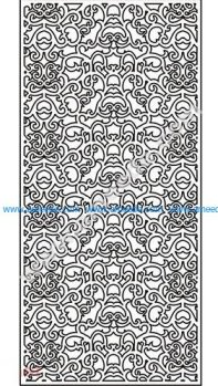 pattern vector cnc carvings 2D22