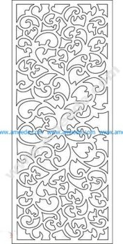 pattern vector cnc carvings 2D24