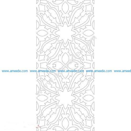 pattern vector cnc carvings 2D6