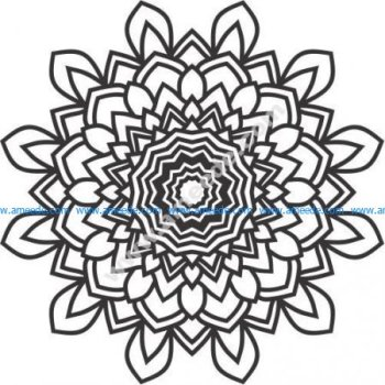 Flower pattern laser engraving patterns