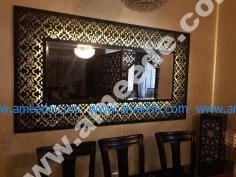 Large Decorative Framed Wall Mirror CNC Plans Laser
