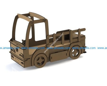 Laser Cut DIY Car Shaped Beds For Toddlers