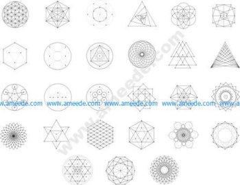 Sacred Geometry Free Vector