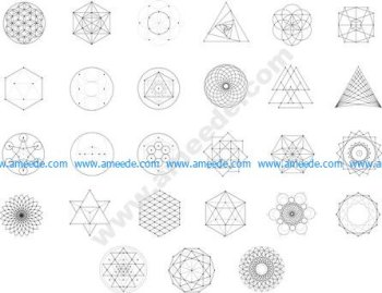 Sacred Geometry Free Vector