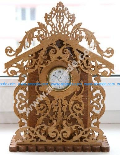 Scroll Saw Patterns for Clock PDF File