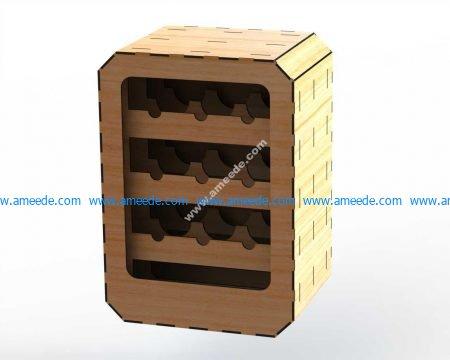 Wine Rack Rectangular 6mm