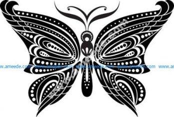 Black Butterfly Tattoo