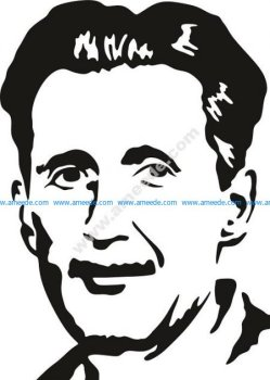 George Orwell Vector Pattern