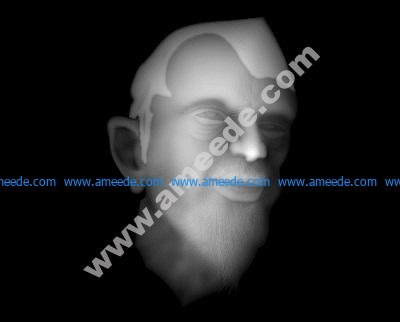 Old man head BMP