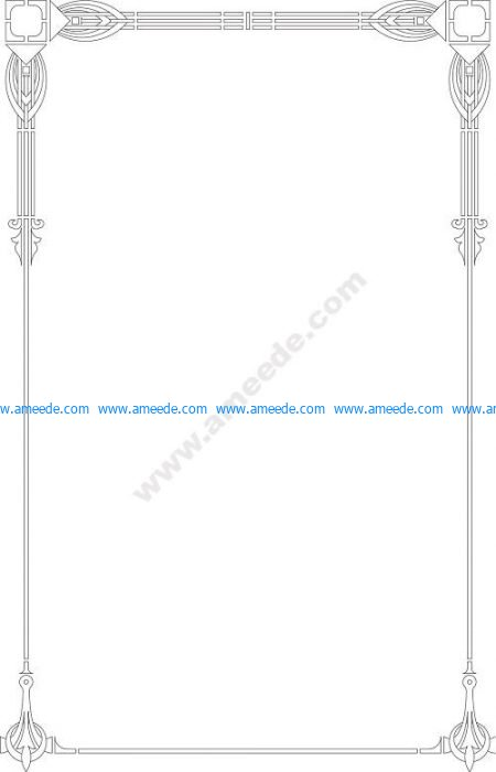 Page border design