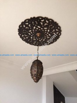Round Ceiling Medallion Laser Cut