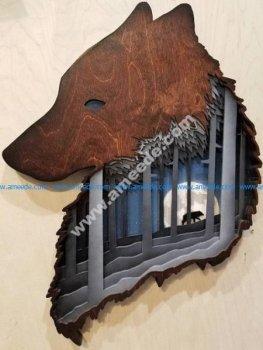 Wolf Art Arch