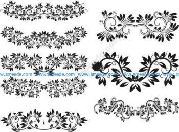 8 horizontal wire pattern patterns