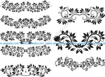 8 horizontal wire pattern patterns