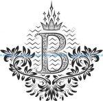 Beautiful Ornament Letters B