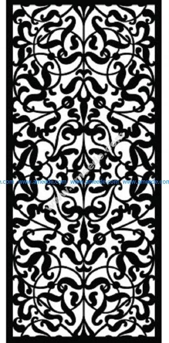Decorative Screen Pattern 13